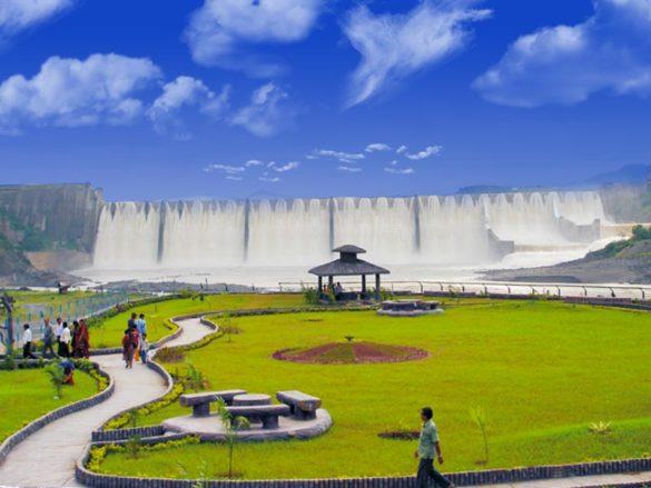 Sardar Sarovar Dam Narmada River Gujarat
