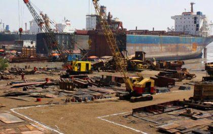 Ship Breaking Industry Alang Bhavnagar