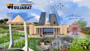 Gandhinagar Green Capital of Gujarat Banner