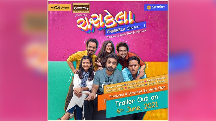 Chaskela Gujarati Web Series Poster