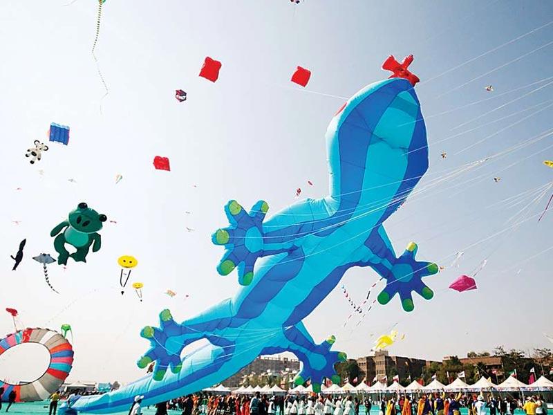 Take Part In International Kite Festival